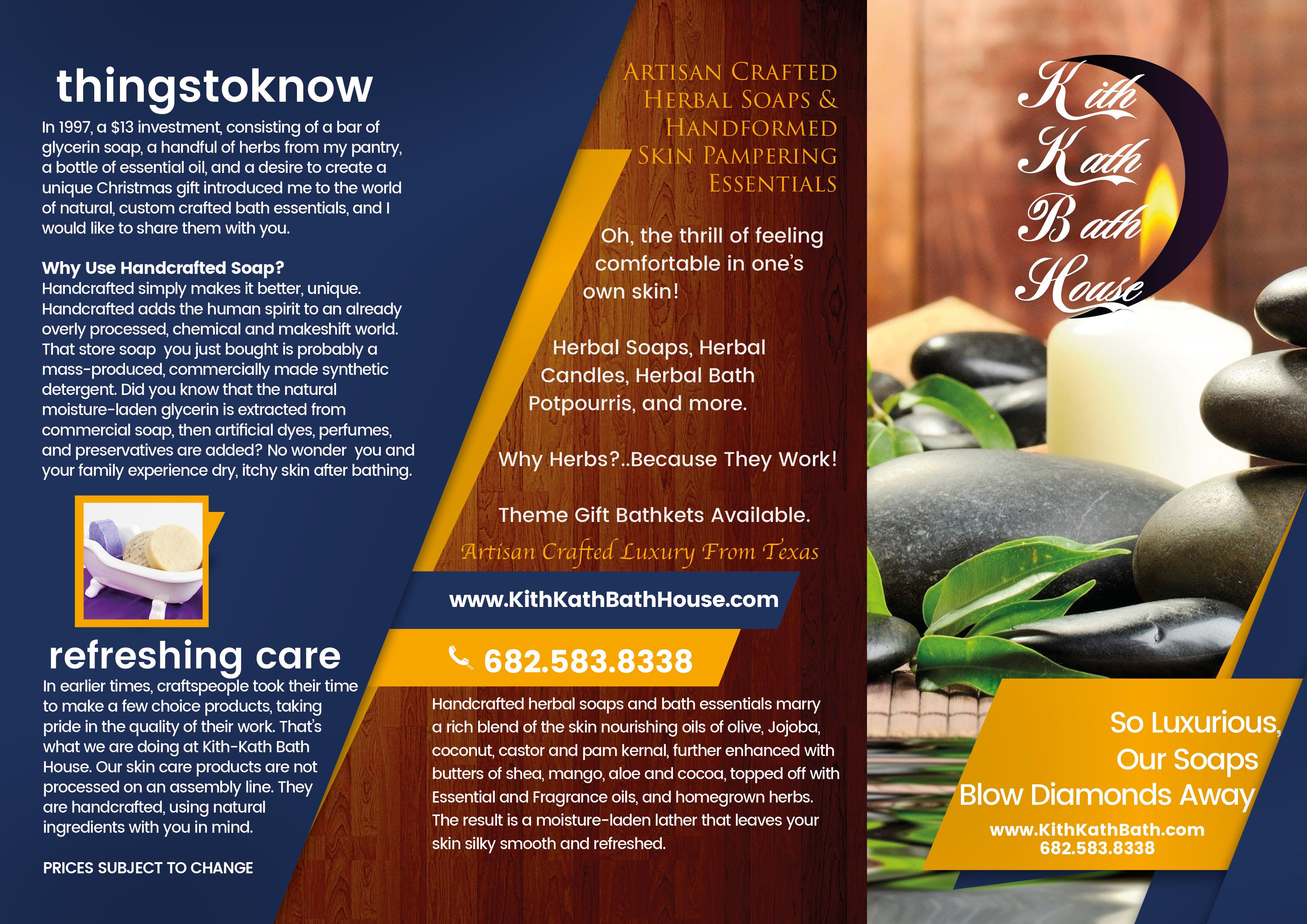 Kith Kath Bath Brochure